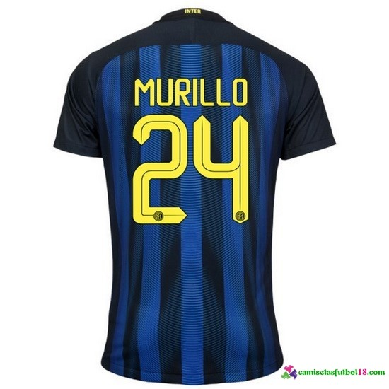 Murillo Camiseta 1ª Kit Inter Milan 2016 2017