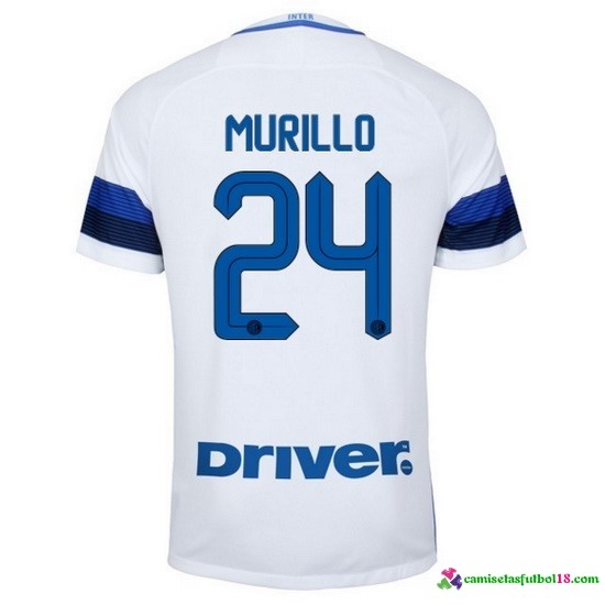 Murillo Camiseta 2ª Kit Inter Milan 2016 2017