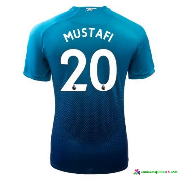 Mustafi Camiseta 2ª Kit Arsenal 2017 2018