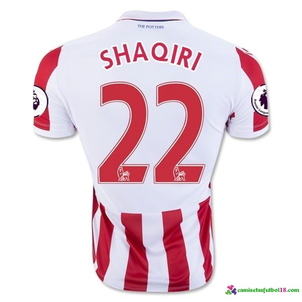 Shaqiri Camiseta 1ª Kit Stoke City 2016 2017