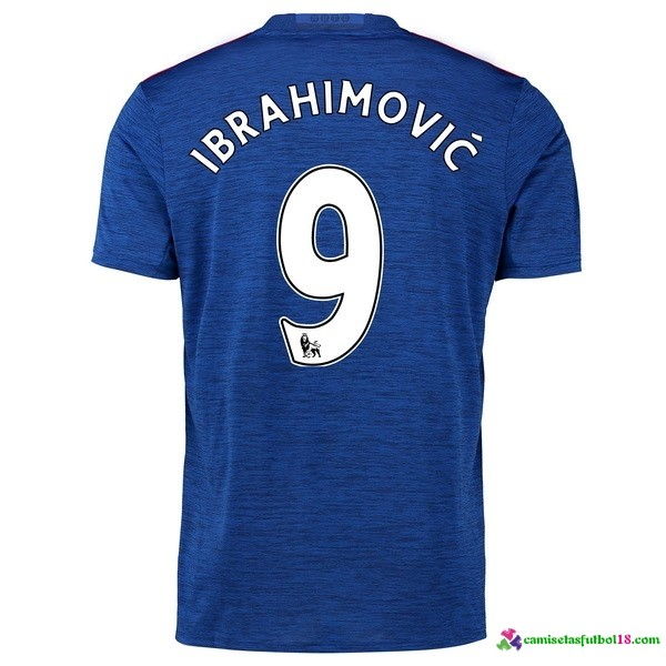 Ibrahimovic Camiseta 2ª Kit Manchester United 2016 2017