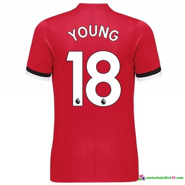 Young Camiseta 1ª Kit Manchester United 2017 2018