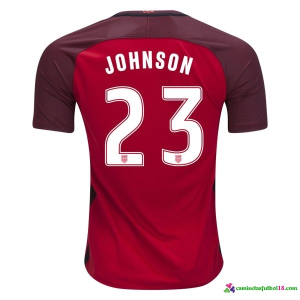 Johnson Camiseta 3ª Kit Estados Unidos 2017