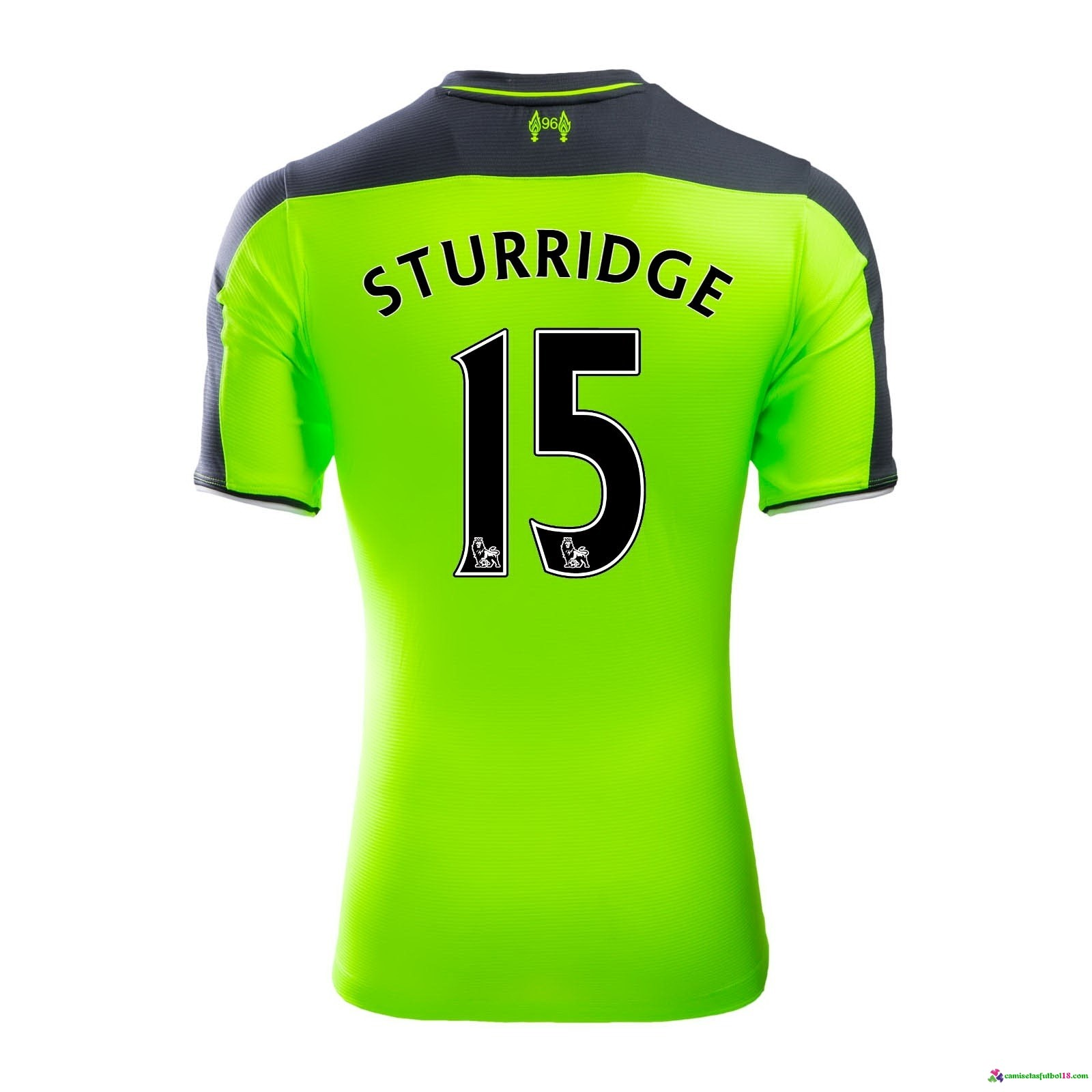 Sturridge Camiseta 3ª Kit Liverpool 2016 2017
