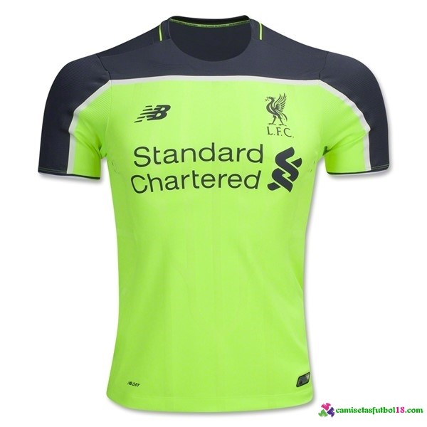 Camiseta 3ª Kit Liverpool 2016 2017