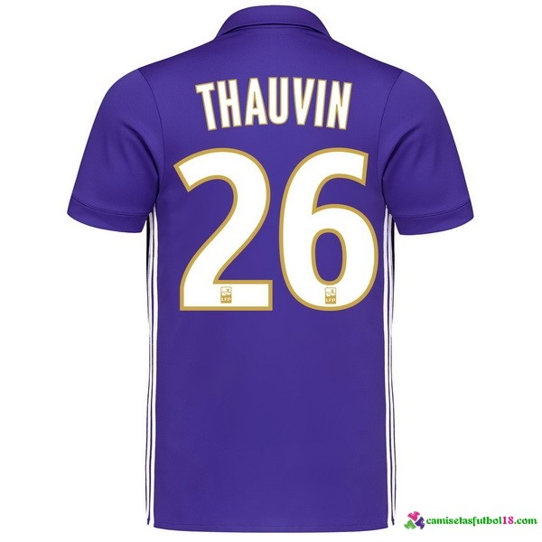 Thauvin Camiseta 3ª Kit Marsella 2017 2018