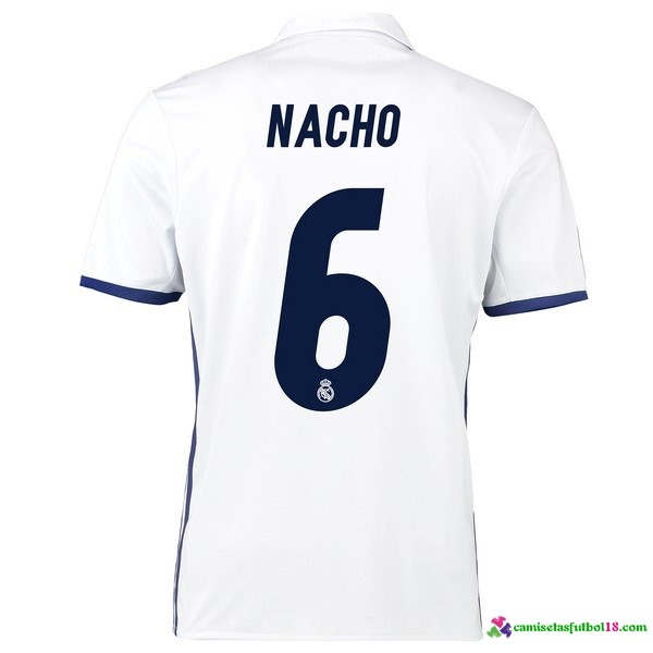 Nacho Camiseta 1ª Kit Real Madrid 2016 2017