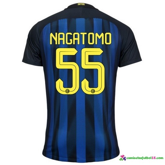 Nagatomo Camiseta 1ª Kit Inter Milan 2016 2017