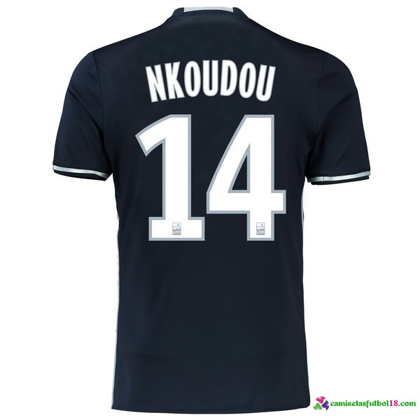 Nkoudou Camiseta 2ª Kit Marsella 2016 2017