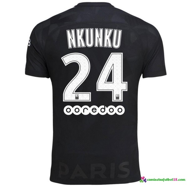 Nkunku Camiseta 3ª Kit Paris Saint Germain 2017 2018