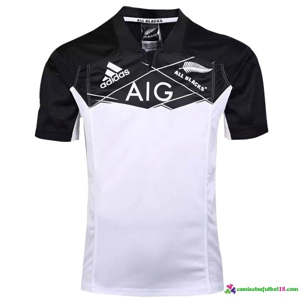 Camisetas Rugby 2ª Kit All Blacks 2016 2017