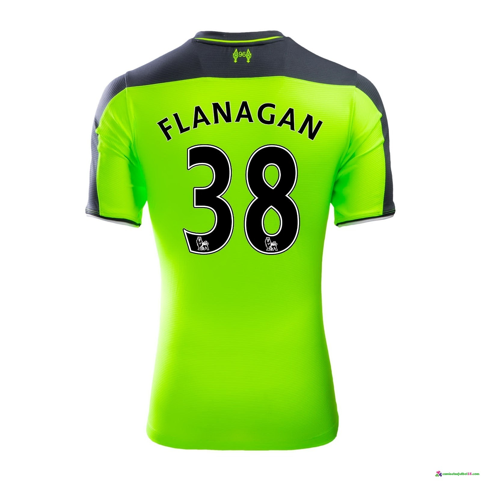 Flanagan Camiseta 3ª Kit Liverpool 2016 2017