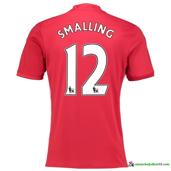 Smalling Camiseta 1ª Kit Manchester United 2016 2017
