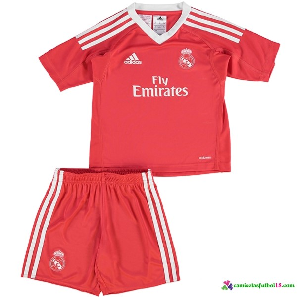 Camiseta 2ª Kit Conjunto Real Madrid Portero Niño 2017 2018