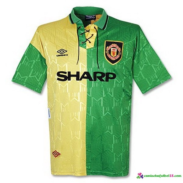 Camiseta 3ª Kit Manchester United Retro 92 93