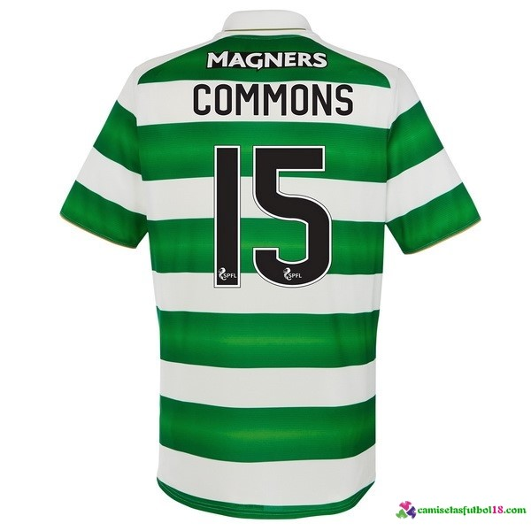 Commons Camiseta 1ª Kit Celtic 2016 2017