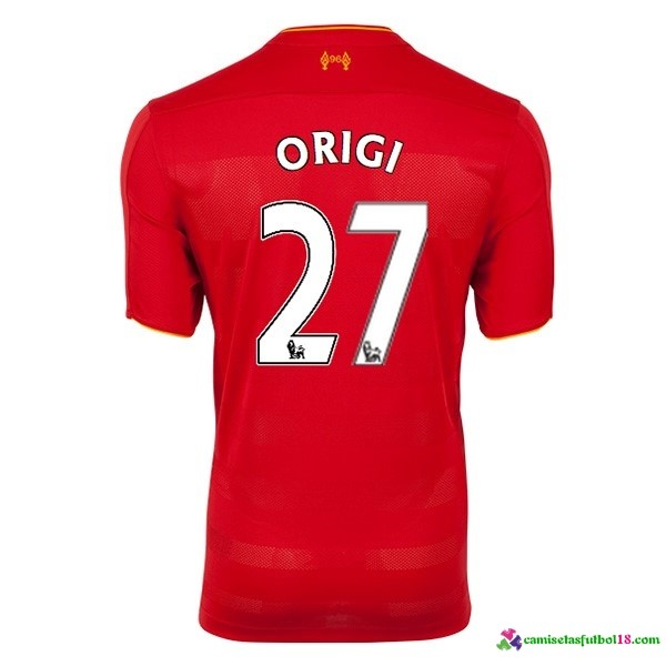 Origi Camiseta 1ª Kit Liverpool 2016 2017