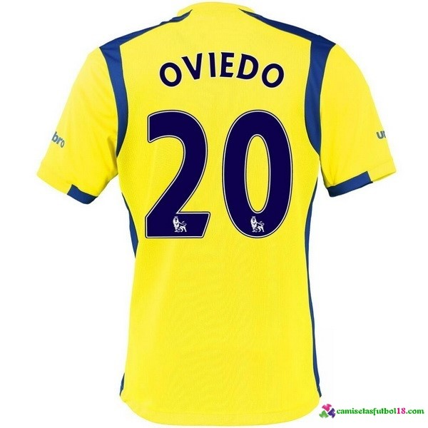 Oviedo Camiseta 3ª Kit Everton 2016 2017