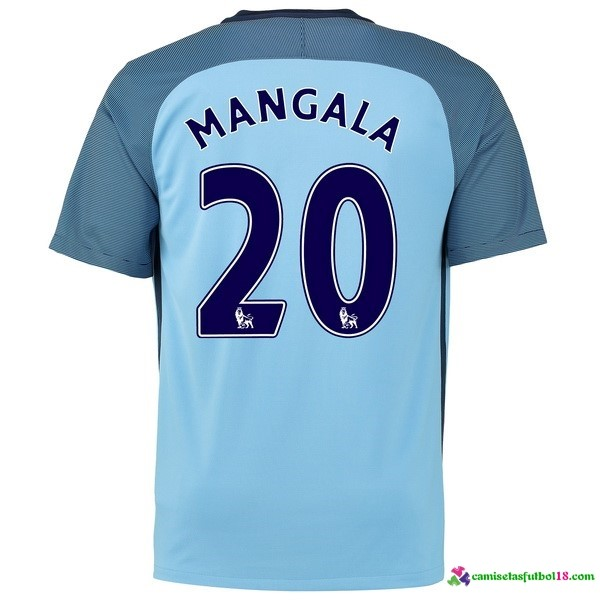 Mangala Camiseta 1ª Kit Manchester City 2016 2017