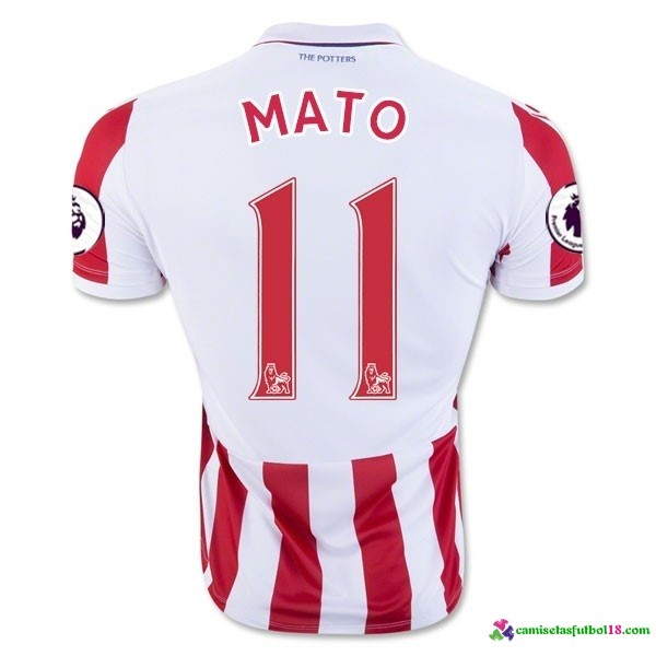 Mato Camiseta 1ª Kit Stoke City 2016 2017