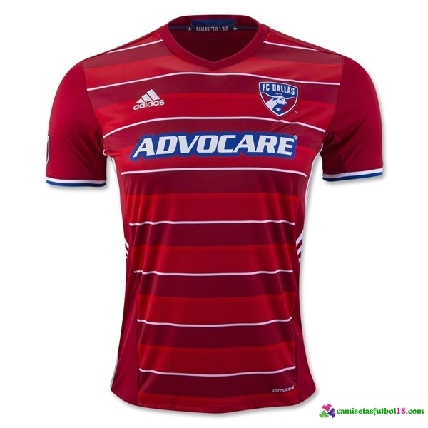Camiseta 1ª Kit FC Dallas 2016 2017