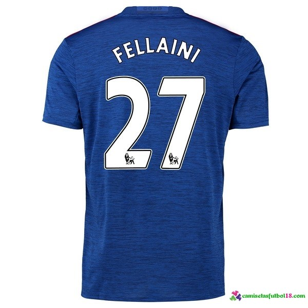 Fellaini Camiseta 2ª Kit Manchester United 2016 2017
