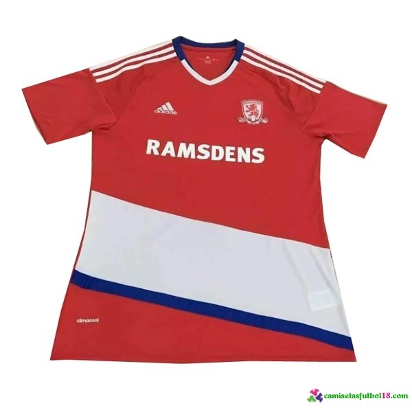 Camiseta 1ª Kit Middlesbrough 2016 2017