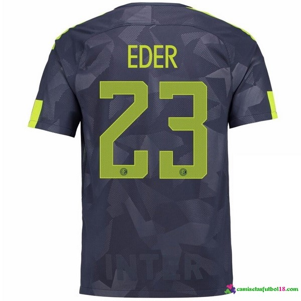 Eder Camiseta 3ª Kit Inter Milan 2017 2018