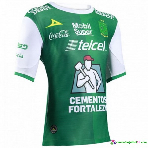 Tailandia Camiseta 1ª Kit Club León 2017 2018