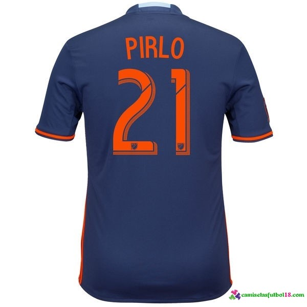 Pirlo Camiseta 2ª Kit New York City 2016 2017