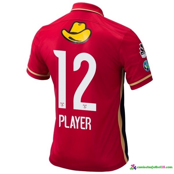 Player Camiseta 1ª Kit Kashima Antlers 2016 2017