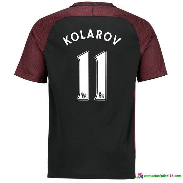 Kolarov Camiseta 2ª Kit Manchester City 2016 2017