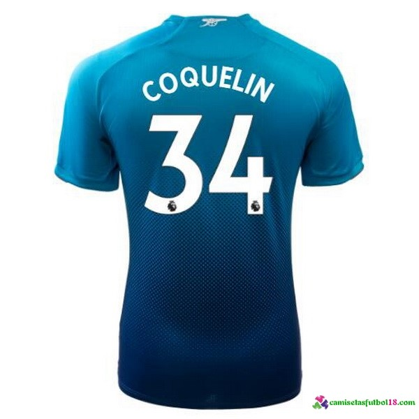 Coquelin Camiseta 2ª Kit Arsenal 2017 2018