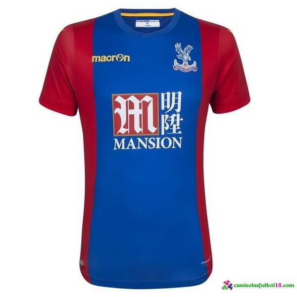 Camiseta 1ª Kit Crystal Palace 2016 2017