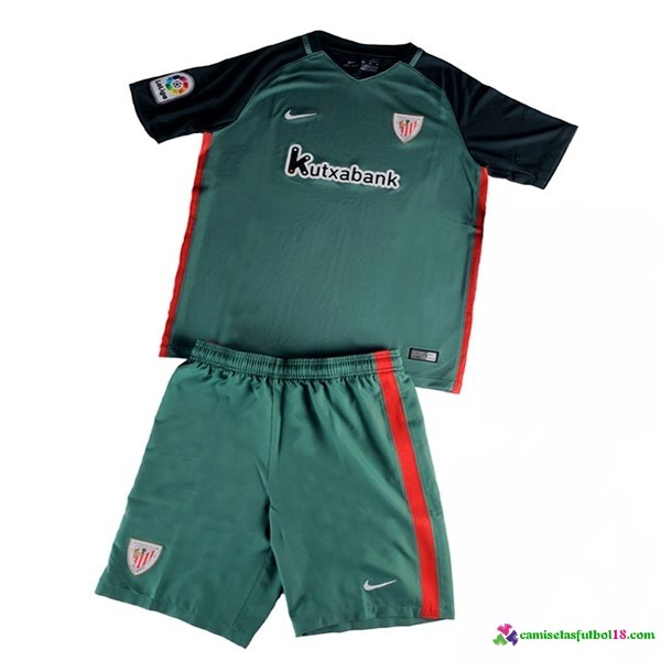 Camiseta 2ª Kit Conjunto Athletic Bilbao Niño 2016 2017
