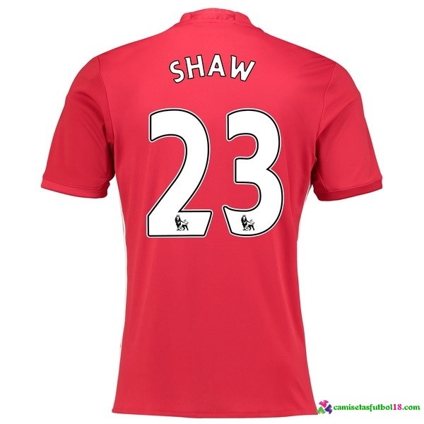 Shaw Camiseta 1ª Kit Manchester United 2016 2017