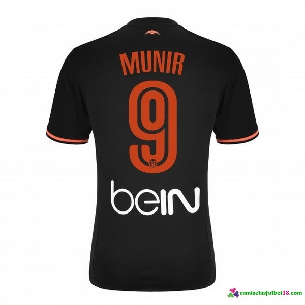 Munir Camiseta 2ª Kit Valencia 2016 2017