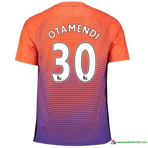 Otamendi Camiseta 3ª Kit Manchester City 2016 2017
