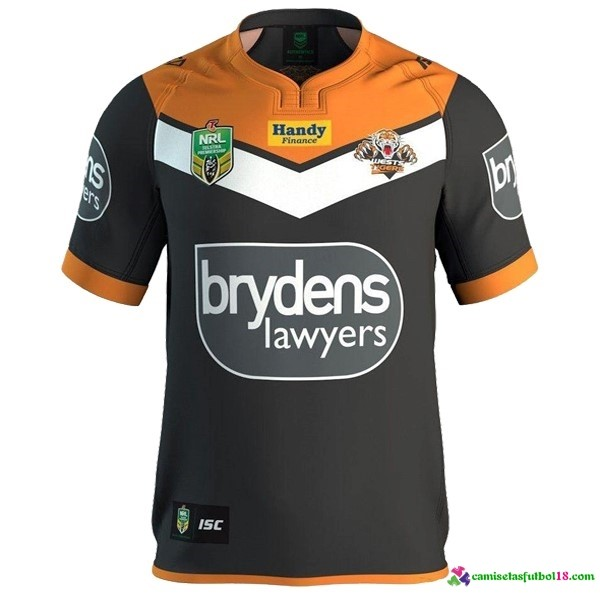 Camisetas Rugby 1ª Kit Wests Tigers 2016 2017