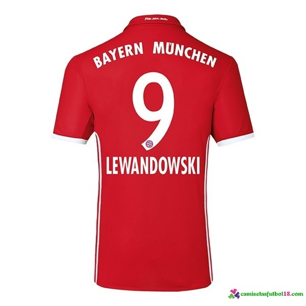 Lewandowski Camiseta 1ª Kit Bayern Munich 2016 2017