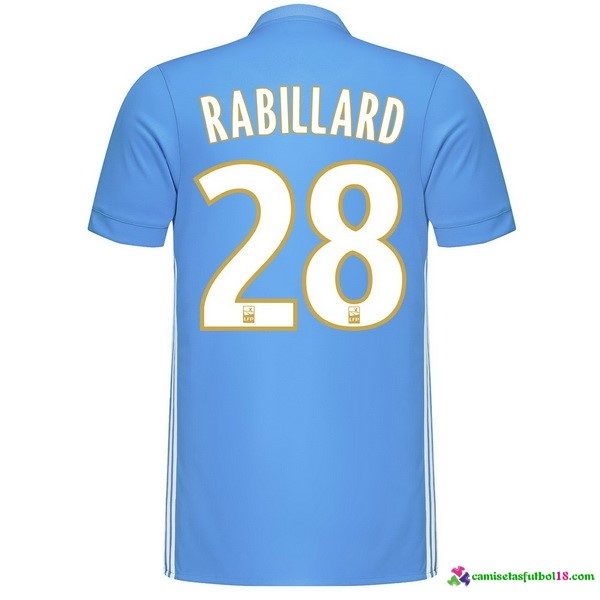 Rabillard Camiseta 2ª Kit Marsella 2017 2018