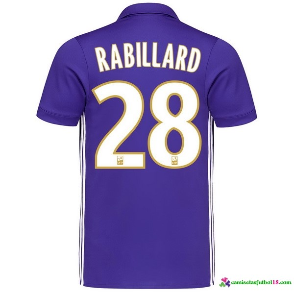 Rabillard Camiseta 3ª Kit Marsella 2017 2018