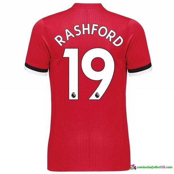 Rashford Camiseta 1ª Kit Manchester United 2017 2018