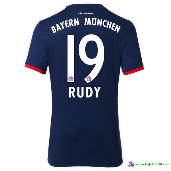 Rudy Camiseta 2ª Kit Bayern Munich 2017 2018