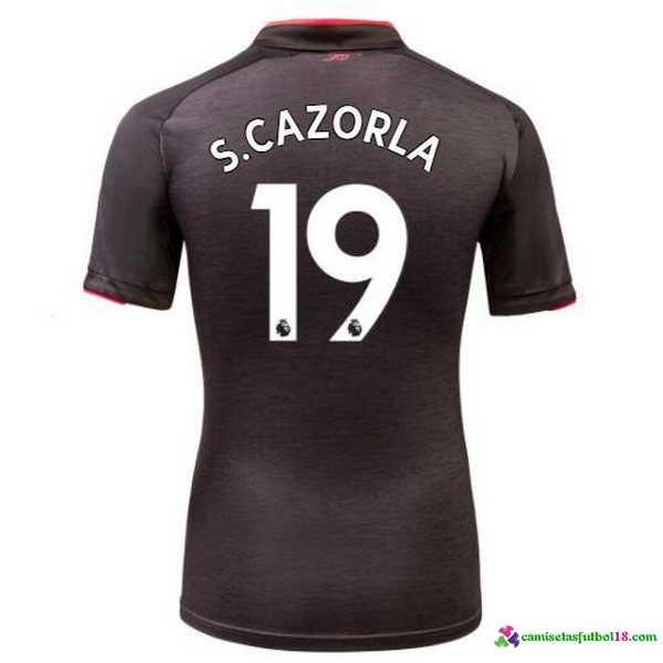 S.Cazorla Camiseta 3ª Kit Arsenal 2017 2018