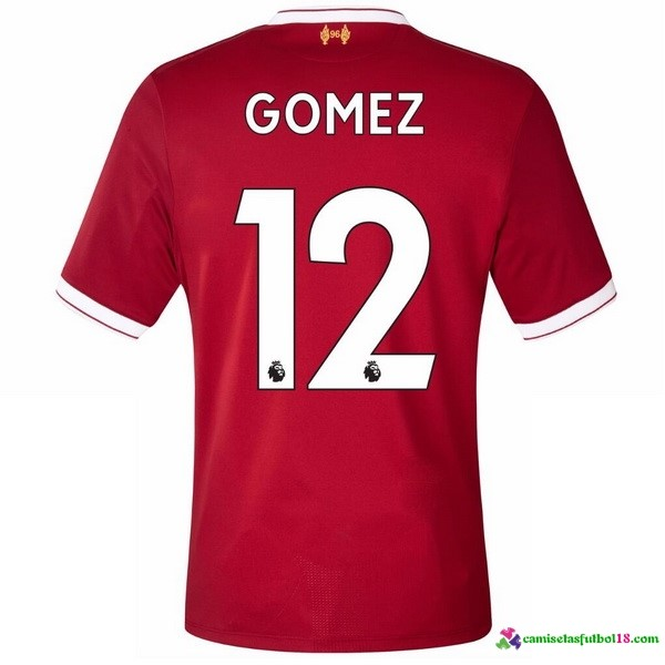 Gomez Camiseta 1ª Kit Liverpool 2017 2018