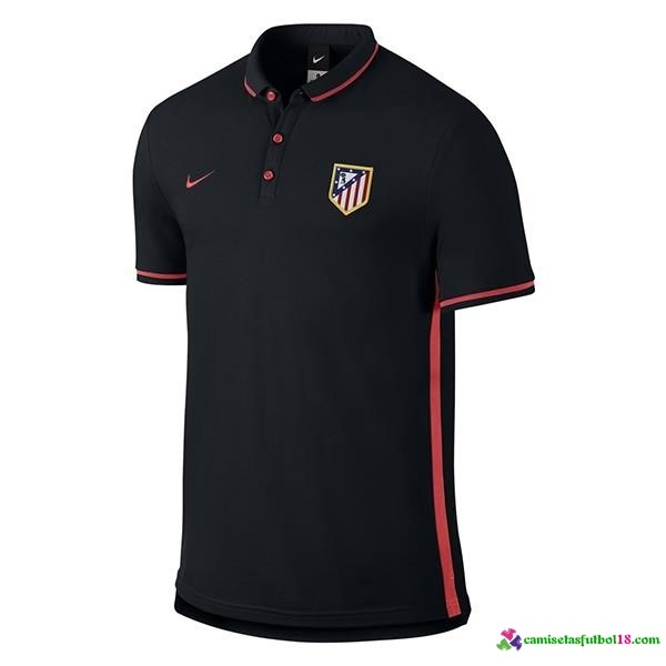 Polo Del Atletico Madrid 2016 2017 Negro