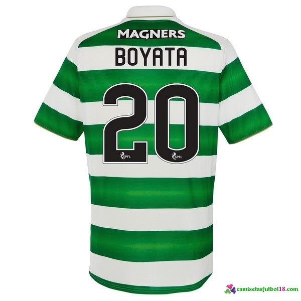 Boyata Camiseta 1ª Kit Celtic 2016 2017