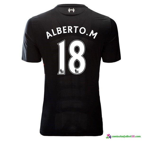 Alberto.M Camiseta 2ª Kit Liverpool 2016 2017