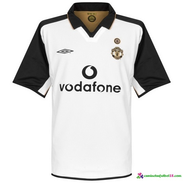 Camiseta 2ª Kit Manchester United Retro 1 2